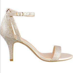 Women's Bandolino  High Heel Sandals Gold 6.5 M